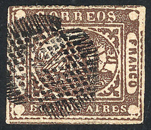Lot 4 - Argentina barquitos -  Guillermo Jalil - Philatino Auction #1941 ARGENTINA: Special November auction