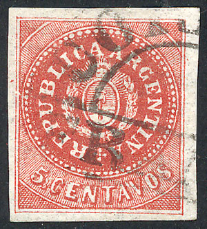 Lot 52 - Argentina escuditos -  Guillermo Jalil - Philatino Auction #1941 ARGENTINA: Special November auction