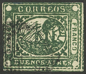 Lot 2 - Argentina barquitos -  Guillermo Jalil - Philatino Auction #1941 ARGENTINA: Special November auction