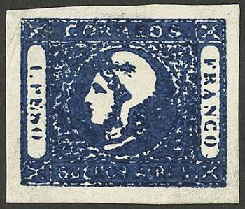 Lot 13 - Argentina cabecitas -  Guillermo Jalil - Philatino Auction #1941 ARGENTINA: Special November auction