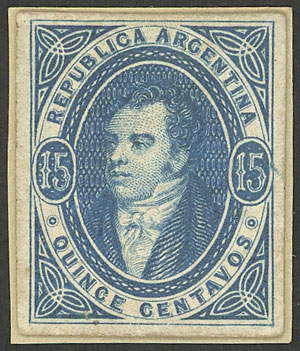 Lot 75 - Argentina rivadavias -  Guillermo Jalil - Philatino Auction #1941 ARGENTINA: Special November auction