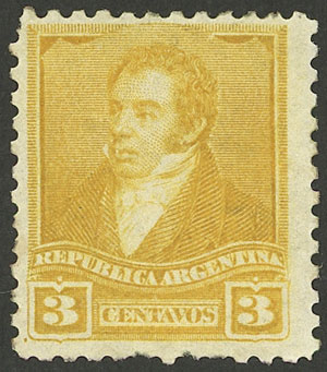 Lot 103 - Argentina general issues -  Guillermo Jalil - Philatino Auction #1941 ARGENTINA: Special November auction