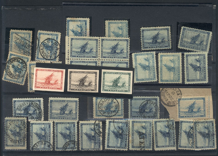 Lot 144 - Argentina general issues -  Guillermo Jalil - Philatino Auction #1942  WORLDWIDE + ARGENTINA: General October auction