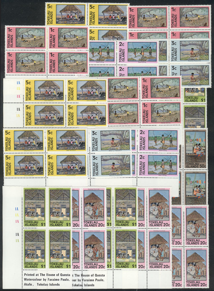 Lot 1364 - tokelau Lots and Collections -  Guillermo Jalil - Philatino Auction #1942  WORLDWIDE + ARGENTINA: General October auction
