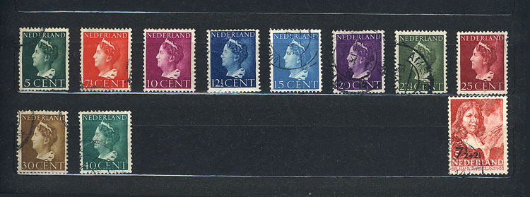 Lot 922 - NETHERLANDS + COLONIES Lots and Collections -  Guillermo Jalil - Philatino Auction #1942  WORLDWIDE + ARGENTINA: General October auction