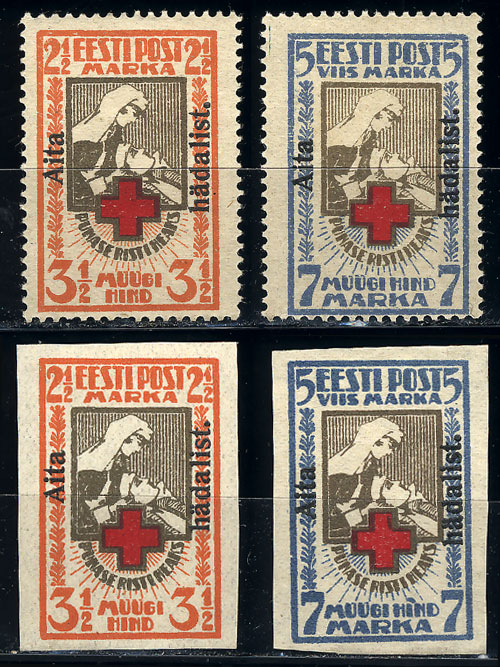 Lot 828 - estonia general issues -  Guillermo Jalil - Philatino Auction #1942  WORLDWIDE + ARGENTINA: General October auction