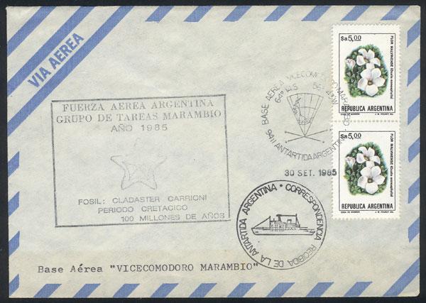 Lot 3 - argentina antarctica postal history -  Guillermo Jalil - Philatino Auction #1943 ARGENTINA: