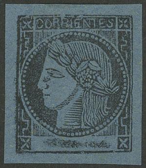 Lot 20 - Argentina corrientes -  Guillermo Jalil - Philatino Auction #1943 ARGENTINA: