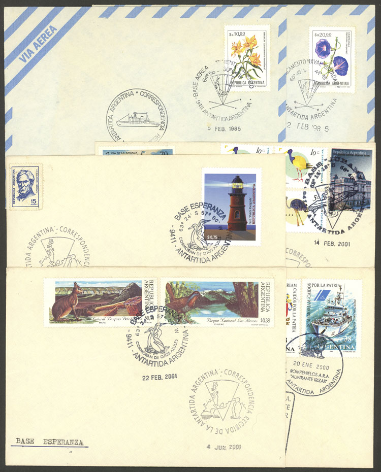 Lot 4 - argentine antarctica postal history -  Guillermo Jalil - Philatino Auction #1943 ARGENTINA: