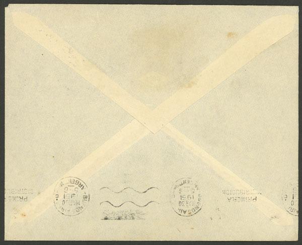 Lot 8 - ARGENTINE ANTARCTICA (ISLAS ORCADAS) postal history -  Guillermo Jalil - Philatino Auction #1943 ARGENTINA: