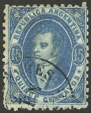 Lot 83 - Argentina rivadavias -  Guillermo Jalil - Philatino Auction #1944 ARGENTINA: Splendid selection of