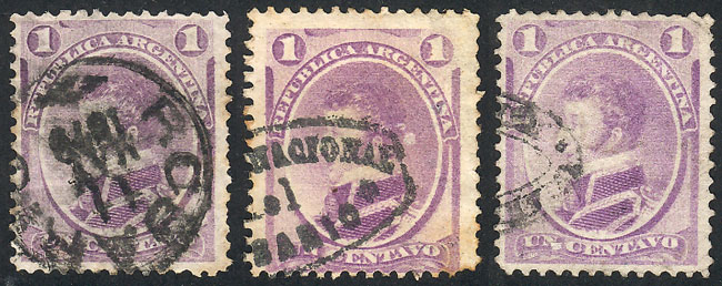 Lot 69 - Argentina general issues -  Guillermo Jalil - Philatino Auction #1945 ARGENTINA: