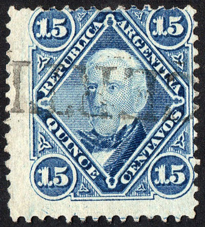 Lot 135 - Argentina general issues -  Guillermo Jalil - Philatino Auction #1945 ARGENTINA: