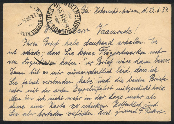 Lot 25 - germany postal history -  Guillermo Jalil - Philatino Auction #1946 WORLDWIDE POSTAL HISTORY, COVERS AND CARDS