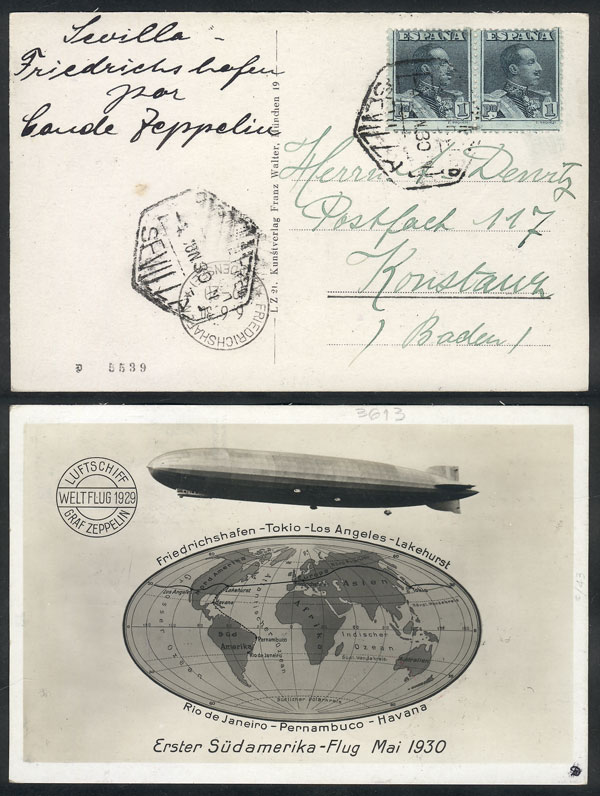 Lot 377 - Spain postal history -  Guillermo Jalil - Philatino Auction #1946 WORLDWIDE POSTAL HISTORY, COVERS AND CARDS