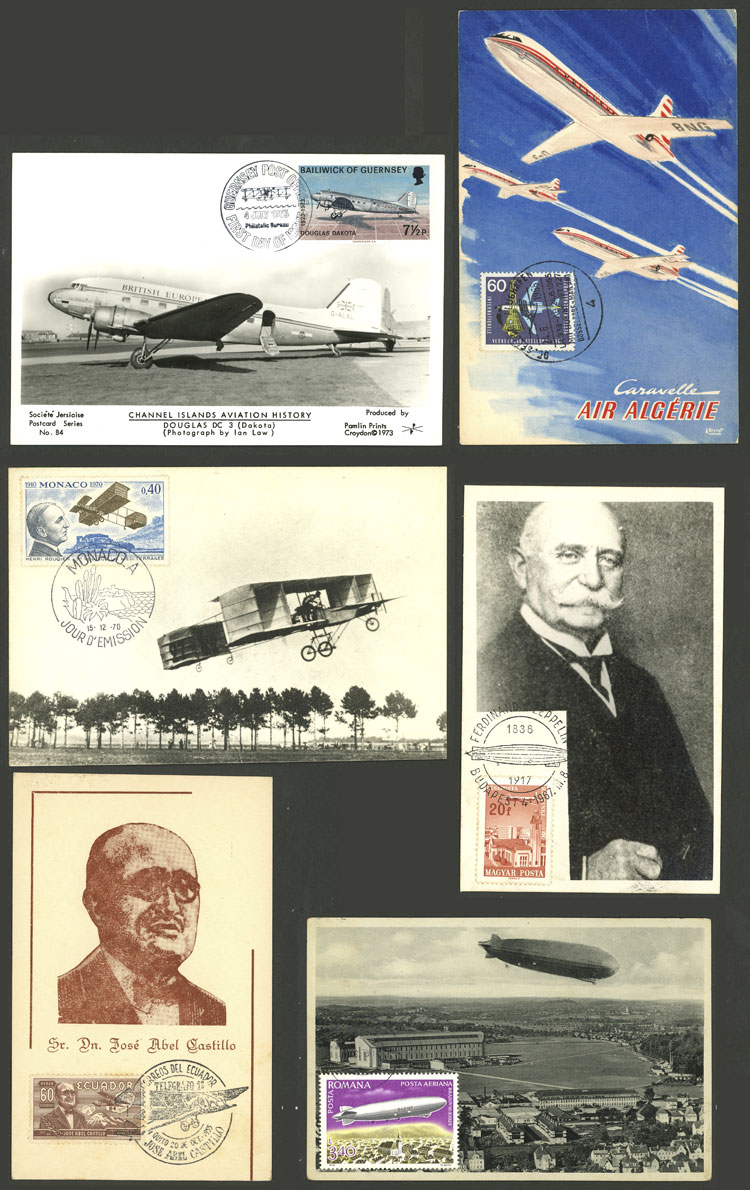 Lot 614 - worldwide Lots and Collections -  Guillermo Jalil - Philatino Auction #1946 WORLDWIDE POSTAL HISTORY, COVERS AND CARDS