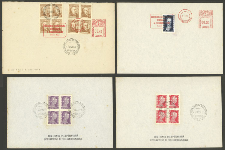 Lot 125 - Argentina postal history -  Guillermo Jalil - Philatino Auction #1946 WORLDWIDE POSTAL HISTORY, COVERS AND CARDS