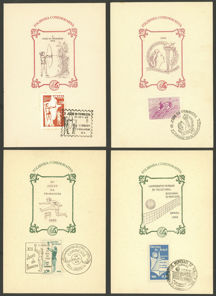 Lot 307 - brazil Lots and Collections -  Guillermo Jalil - Philatino Auction #1946 WORLDWIDE POSTAL HISTORY, COVERS AND CARDS