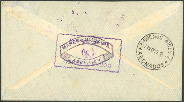 Lot 534 - Paraguay postal history -  Guillermo Jalil - Philatino Auction #1946 WORLDWIDE POSTAL HISTORY, COVERS AND CARDS