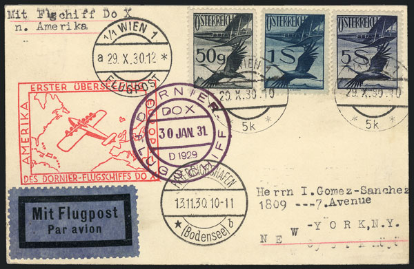 Lot 143 - Austria postal history -  Guillermo Jalil - Philatino Auction #1946 WORLDWIDE POSTAL HISTORY, COVERS AND CARDS