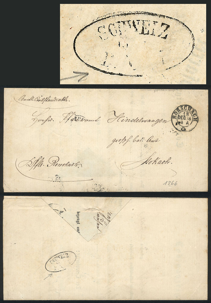 Lot 6 - germany postal history -  Guillermo Jalil - Philatino Auction #1946 WORLDWIDE POSTAL HISTORY, COVERS AND CARDS