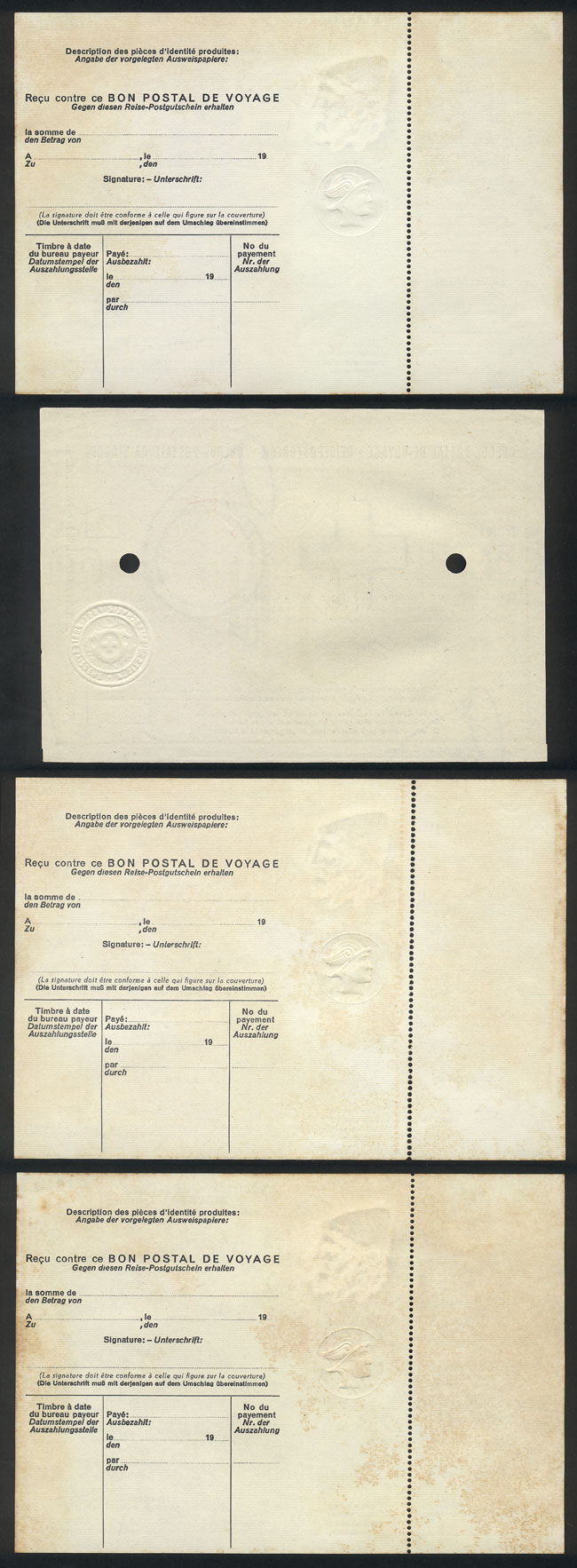 Lot 2 - upu other items -  Guillermo Jalil - Philatino Auction #1946 WORLDWIDE POSTAL HISTORY, COVERS AND CARDS