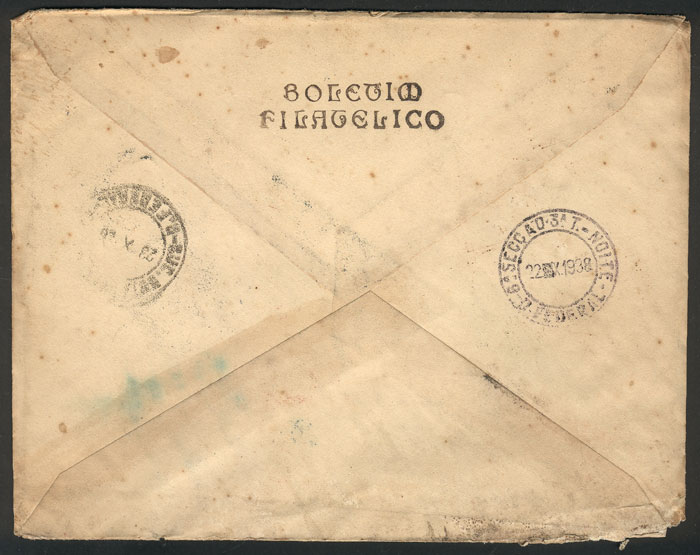 Lot 276 - brazil postal history -  Guillermo Jalil - Philatino Auction #1946 WORLDWIDE POSTAL HISTORY, COVERS AND CARDS