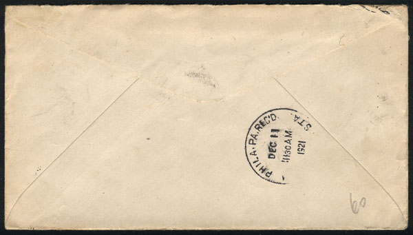 Lot 385 - united states postal history -  Guillermo Jalil - Philatino Auction #1946 WORLDWIDE POSTAL HISTORY, COVERS AND CARDS