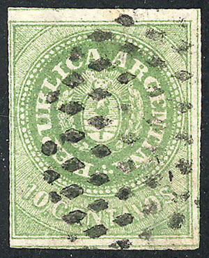 Lot 19 - Argentina escuditos -  Guillermo Jalil - Philatino Auction #1947 ARGENTINA: great auction with very interesting lots