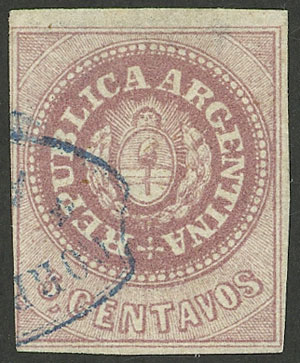 Lot 12 - Argentina escuditos -  Guillermo Jalil - Philatino Auction #1947 ARGENTINA: great auction with very interesting lots