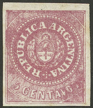 Lot 6 - Argentina escuditos -  Guillermo Jalil - Philatino Auction #1947 ARGENTINA: great auction with very interesting lots
