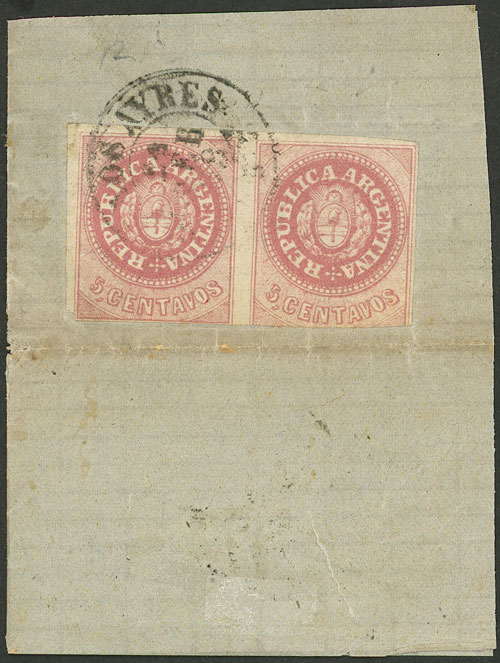 Lot 14 - Argentina escuditos -  Guillermo Jalil - Philatino Auction #1947 ARGENTINA: great auction with very interesting lots