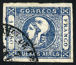 Lot 2 - Argentina buenos aires -  Guillermo Jalil - Philatino Auction #1947 ARGENTINA: great auction with very interesting lots