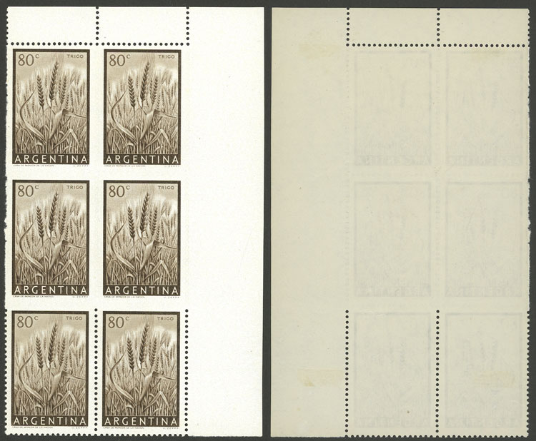 Lot 56 - Argentina general issues -  Guillermo Jalil - Philatino Auction #1948 ARGENTINA - DEFINITIVE STAMPS - PRÓCERES & RIQUEZAS