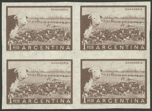 Lot 59 - Argentina general issues -  Guillermo Jalil - Philatino Auction #1948 ARGENTINA - DEFINITIVE STAMPS - PRÓCERES & RIQUEZAS