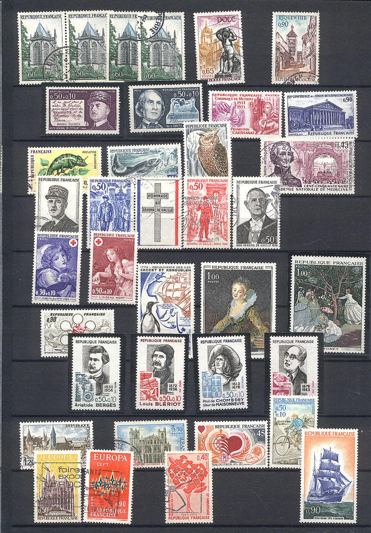 Lot 1504 - France Lots and Collections -  Guillermo Jalil - Philatino Auction #1949  WORLDWIDE + ARGENTINA: End-of-year general auction