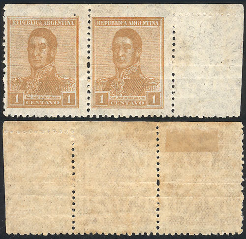 Lot 356 - Argentina general issues -  Guillermo Jalil - Philatino Auction #1949  WORLDWIDE + ARGENTINA: End-of-year general auction