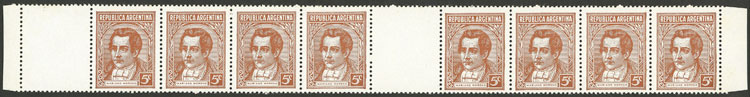 Lot 384 - Argentina general issues -  Guillermo Jalil - Philatino Auction #1949  WORLDWIDE + ARGENTINA: End-of-year general auction