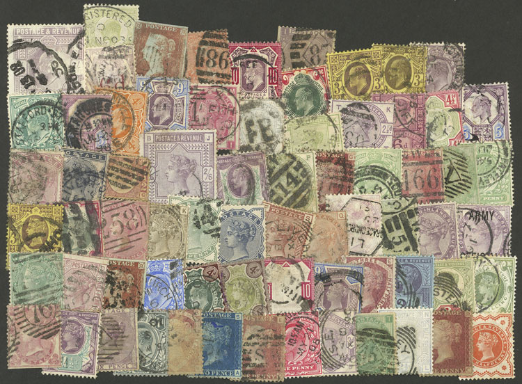 Lot 1542 - Great Britain Lots and Collections -  Guillermo Jalil - Philatino Auction #1949  WORLDWIDE + ARGENTINA: End-of-year general auction
