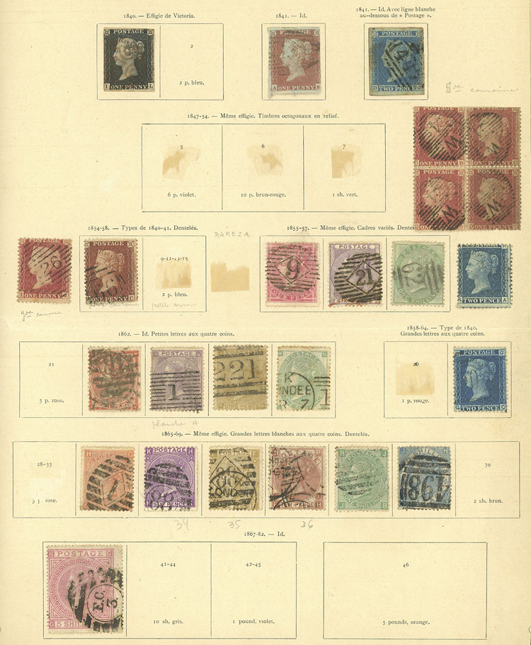 Lot 1540 - Great Britain Lots and Collections -  Guillermo Jalil - Philatino Auction #1949  WORLDWIDE + ARGENTINA: End-of-year general auction