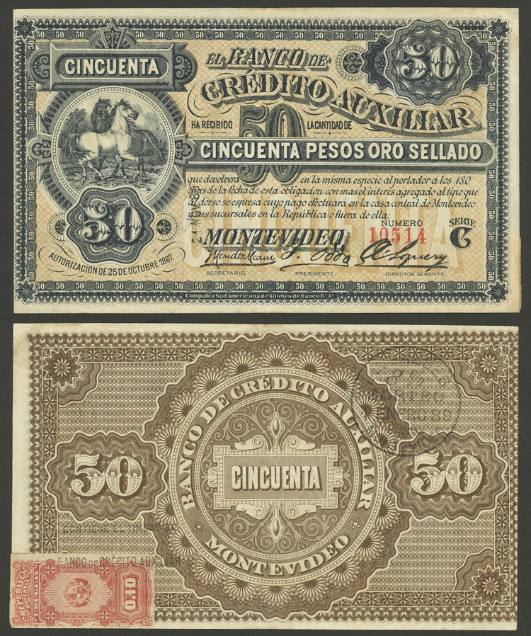 Lot 2107 - Uruguay other items -  Guillermo Jalil - Philatino Auction #1949  WORLDWIDE + ARGENTINA: End-of-year general auction