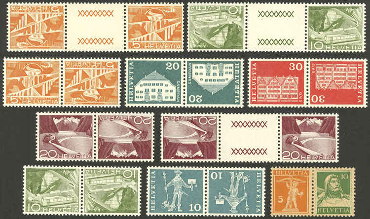 Lot 2000 - Switzerland Lots and Collections -  Guillermo Jalil - Philatino Auction #1949  WORLDWIDE + ARGENTINA: End-of-year general auction