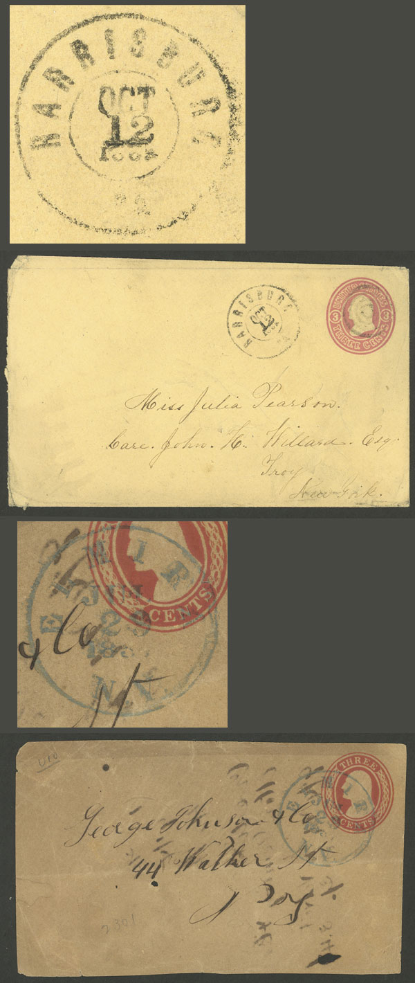 Lot 1440 - united states postal history -  Guillermo Jalil - Philatino Auction #1949  WORLDWIDE + ARGENTINA: End-of-year general auction