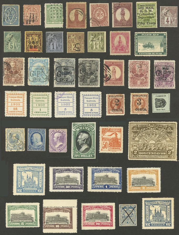 Lot 2052 - worldwide Lots and Collections -  Guillermo Jalil - Philatino Auction #1949  WORLDWIDE + ARGENTINA: End-of-year general auction