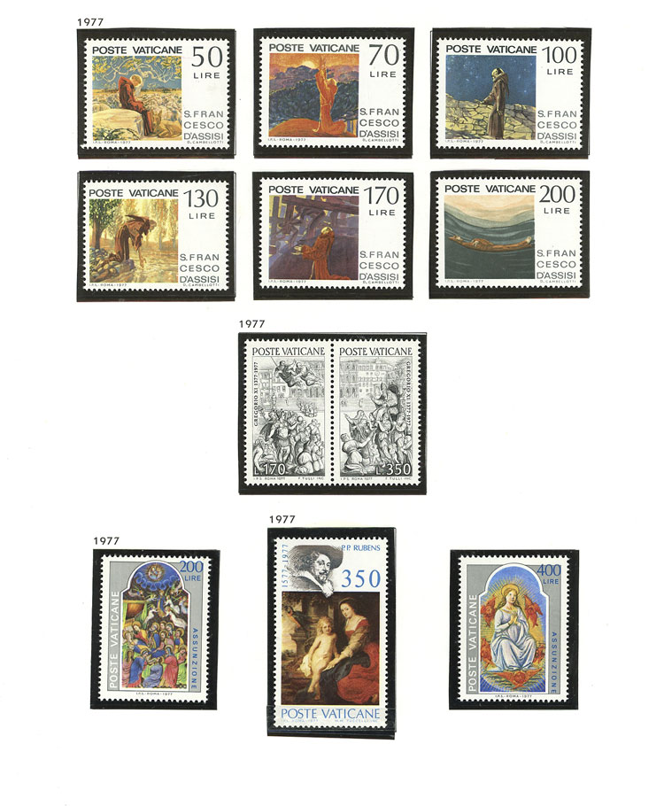 Lot 2113 - vatican Lots and Collections -  Guillermo Jalil - Philatino Auction #1949  WORLDWIDE + ARGENTINA: End-of-year general auction