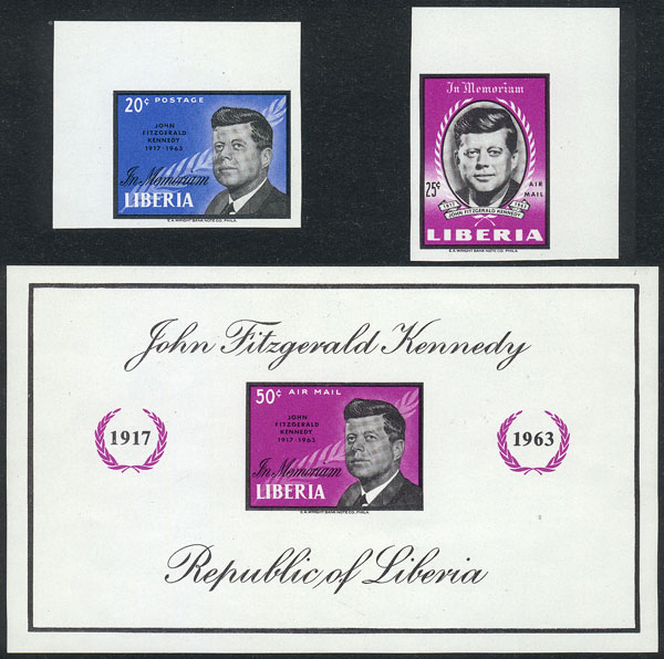 Lot 1701 - Liberia general issues -  Guillermo Jalil - Philatino Auction #1949  WORLDWIDE + ARGENTINA: End-of-year general auction
