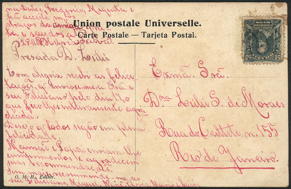 Lot 2106 - Uruguay postcards -  Guillermo Jalil - Philatino Auction #1949  WORLDWIDE + ARGENTINA: End-of-year general auction