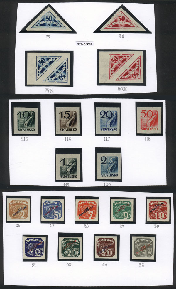 Lot 1411 - slovakia Lots and Collections -  Guillermo Jalil - Philatino Auction #1949  WORLDWIDE + ARGENTINA: End-of-year general auction