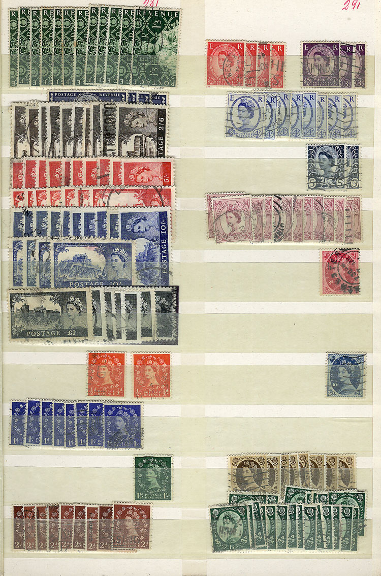Lot 1541 - Great Britain Lots and Collections -  Guillermo Jalil - Philatino Auction #1949  WORLDWIDE + ARGENTINA: End-of-year general auction
