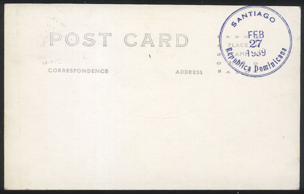 Lot 1392 - dominican republic maximum cards -  Guillermo Jalil - Philatino Auction #1949  WORLDWIDE + ARGENTINA: End-of-year general auction